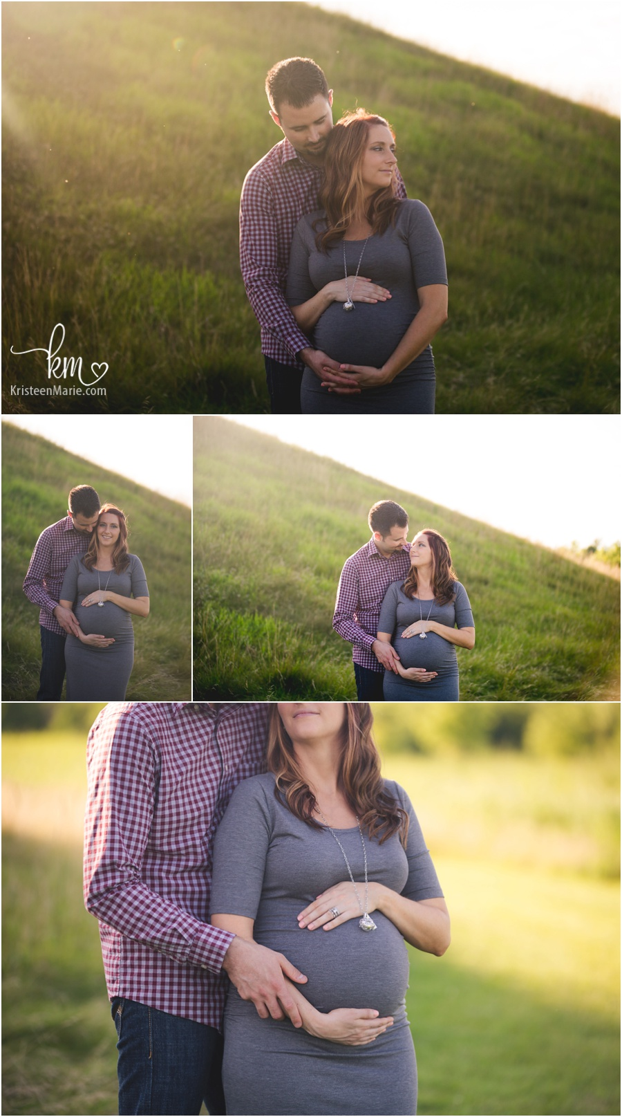 outdoor maternity pictures - natural posing