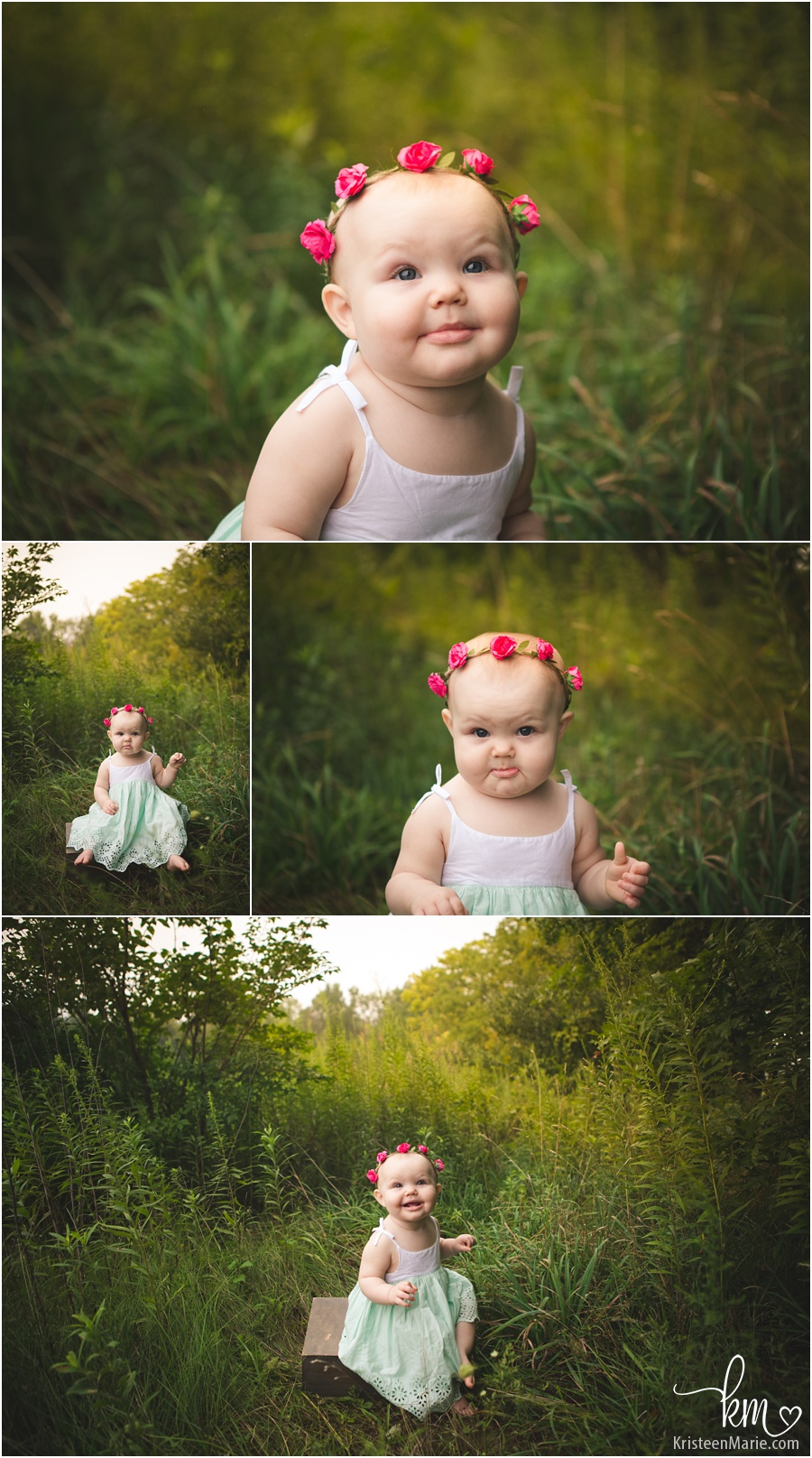 one year old photography - rustic photography