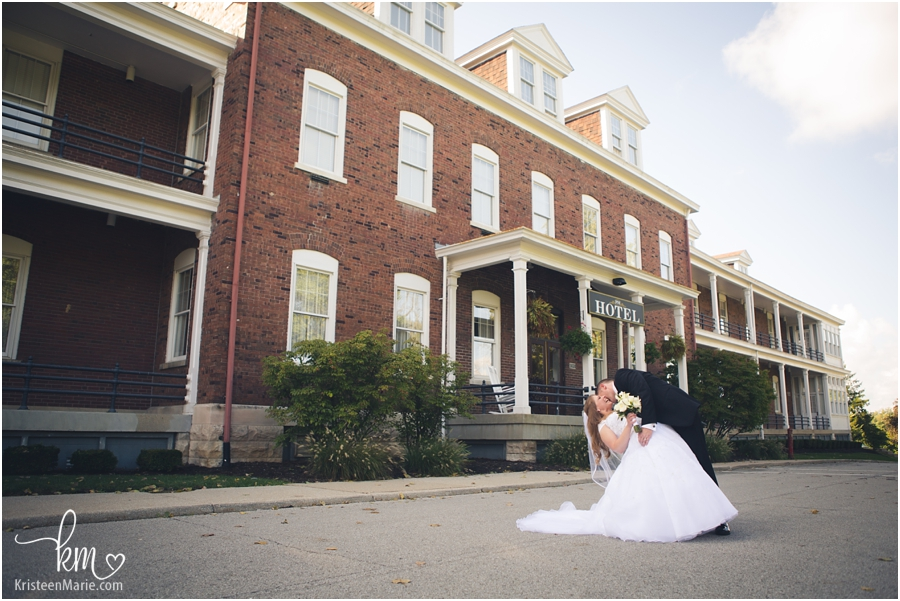 Fort Harrison State Park Inn Wedding