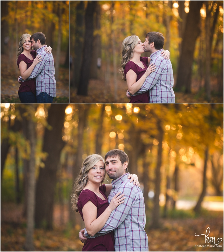 lovely Fall enagement pictures