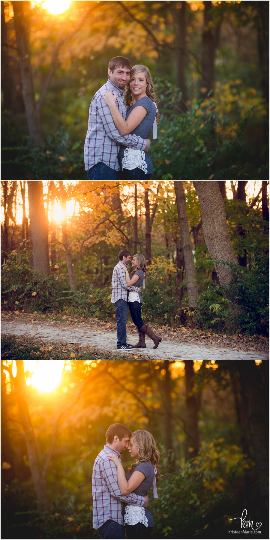 sunset - golden hour is the best time for outdoor pictures