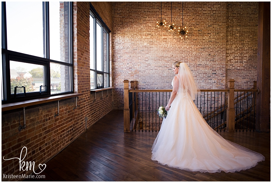 Biltwell Event Center Wedding Portrait of Bride