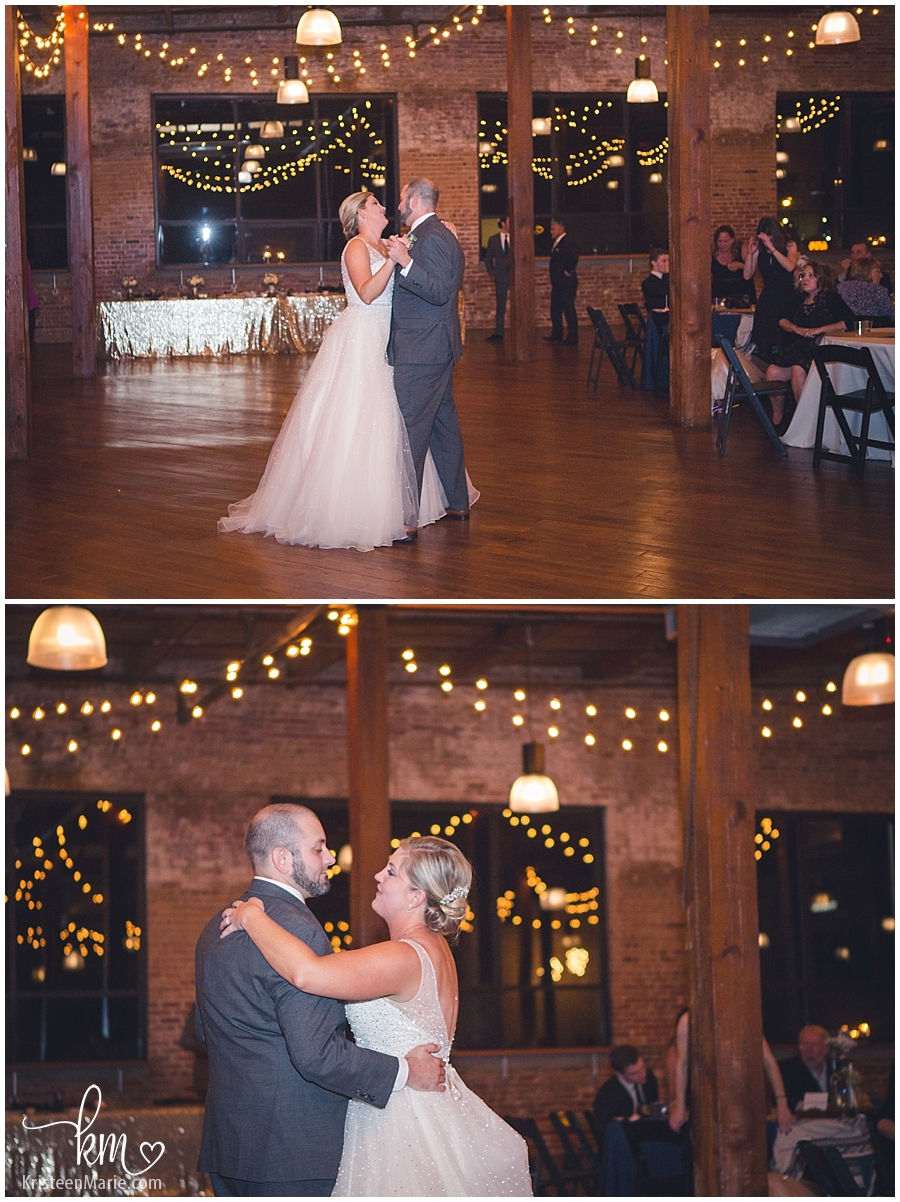 first dance with lights