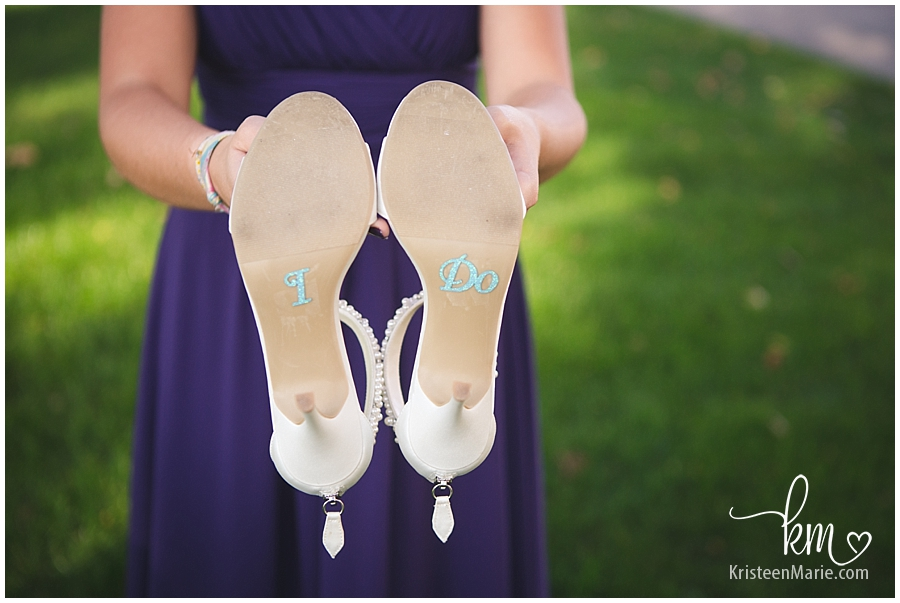 wedding shoes - I do
