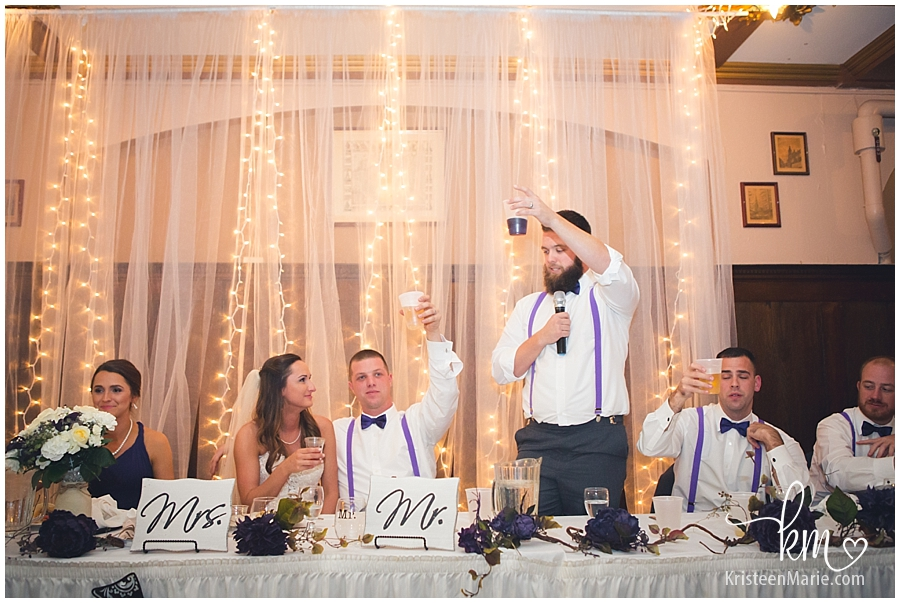 wedding party toasts