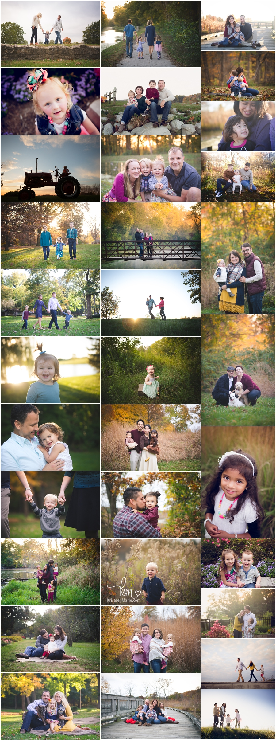 Indianapolis family photography - KristeenMarie Photo