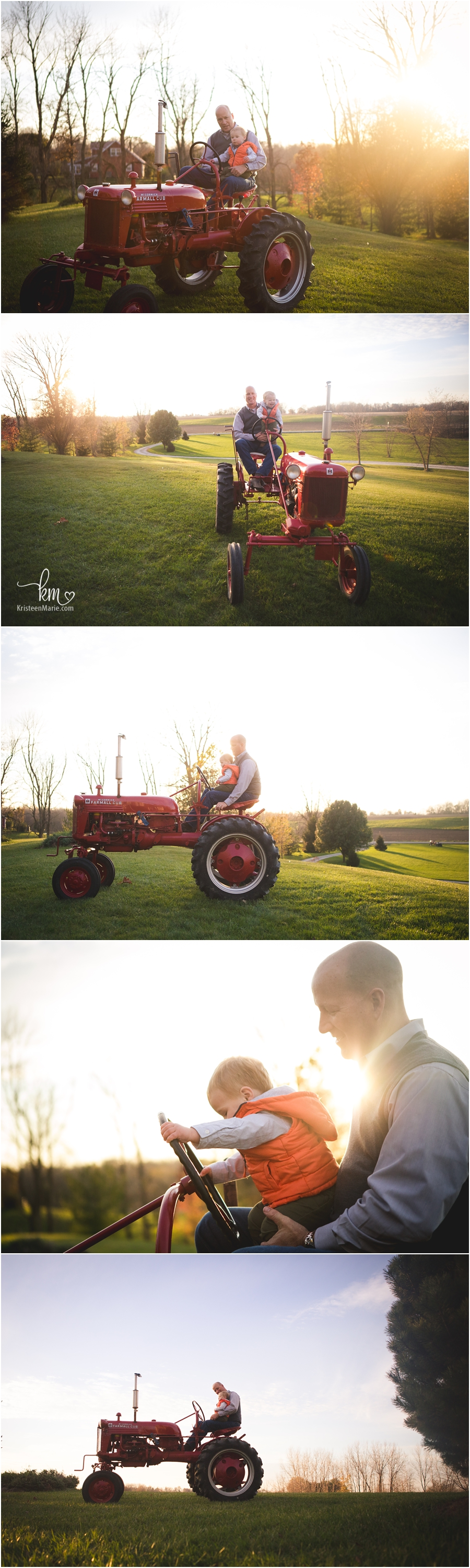 A day on the farm - family photography