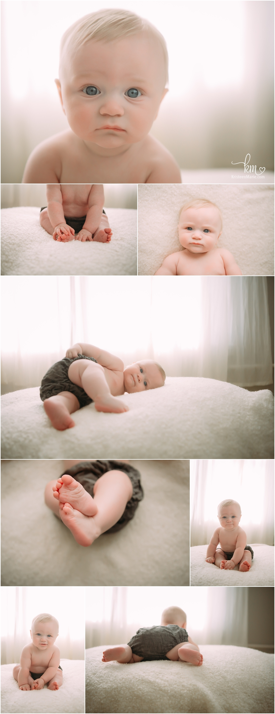 backlit photography for sitter child session