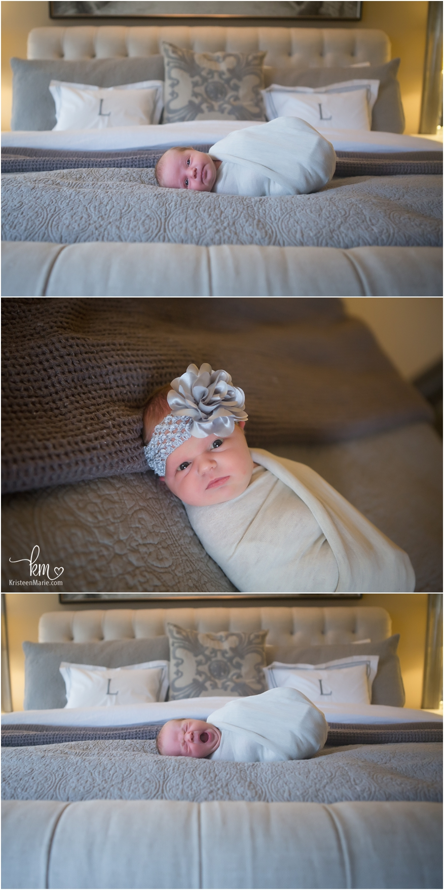 baby girl in-home lifestyle newborn photography