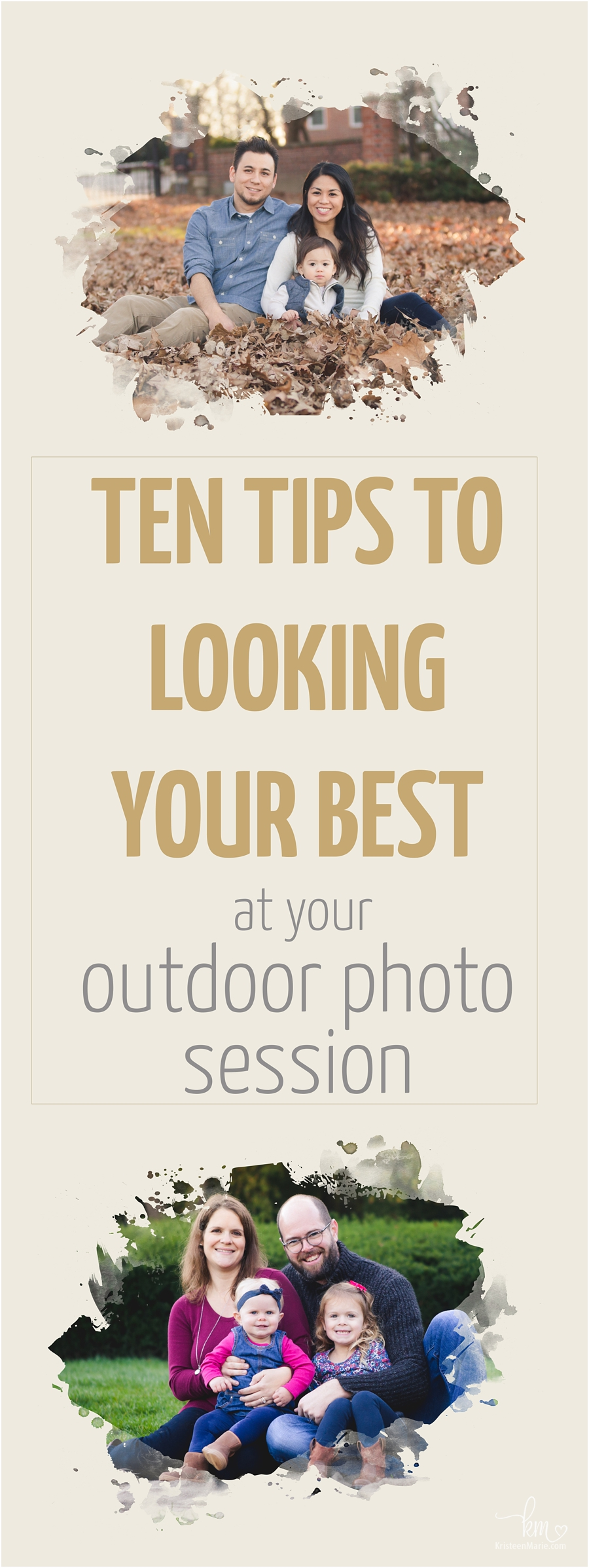what to wear for your outdoor photo session