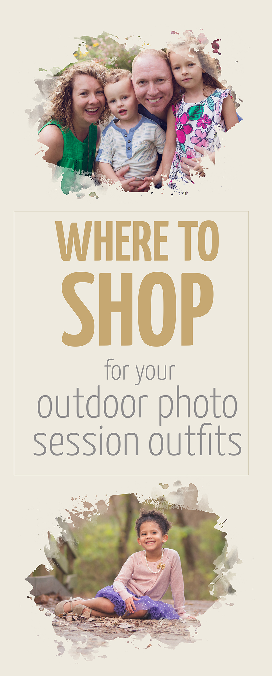 where to shop for clothing for photography session
