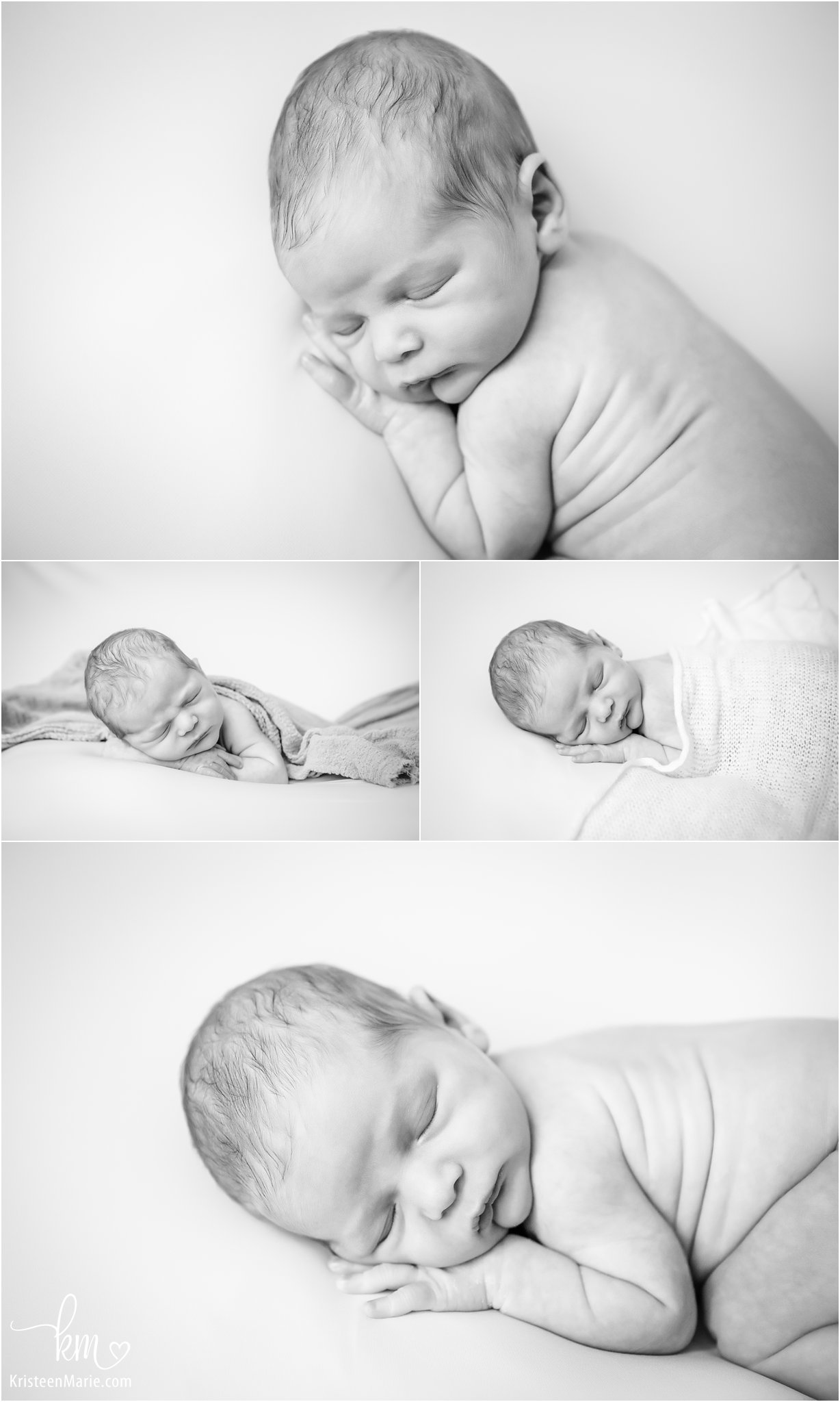 black and white newborn photography pictures