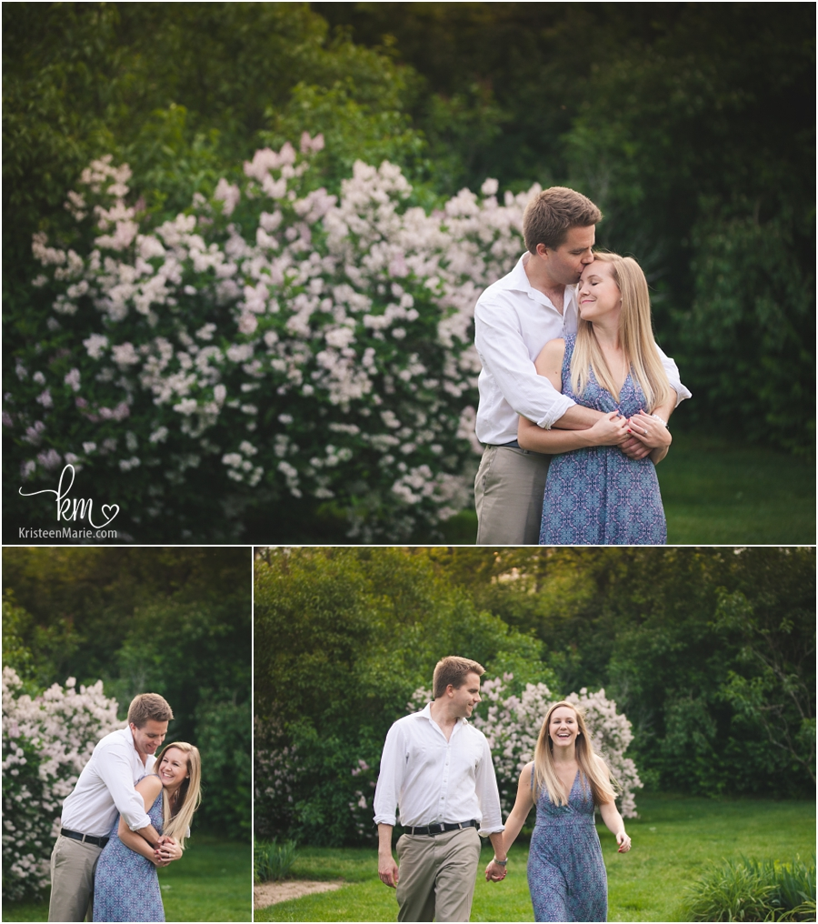 spring engagement photography in Indainapolis Indiana