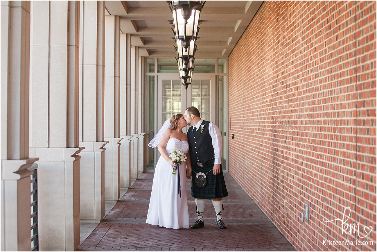 wedding photography at Indiana Historical Society