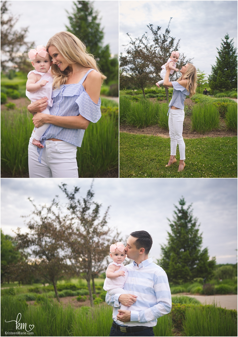 outdoor family pictures in Carmel, IN
