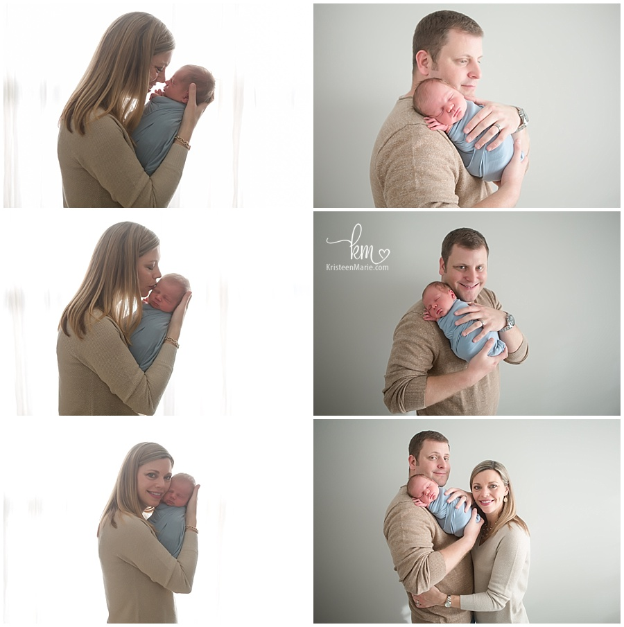 newborn photography with mom and dad