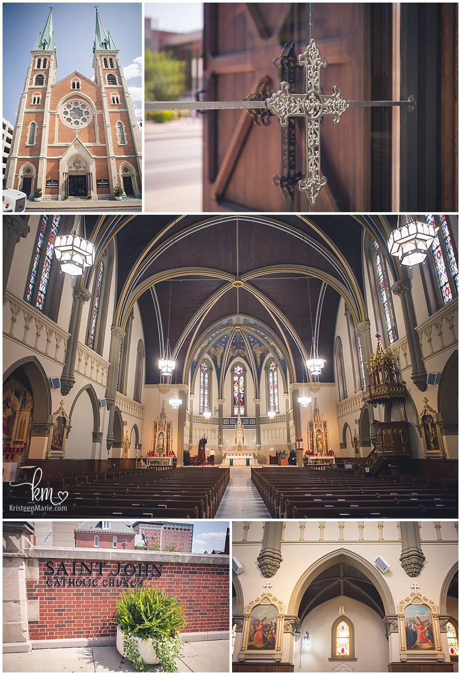 St. John the Evangelist Catholic Church in Indianapolis, IN