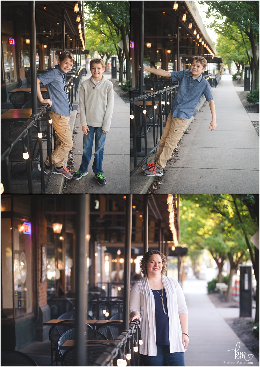 Urban Setting for family pictures