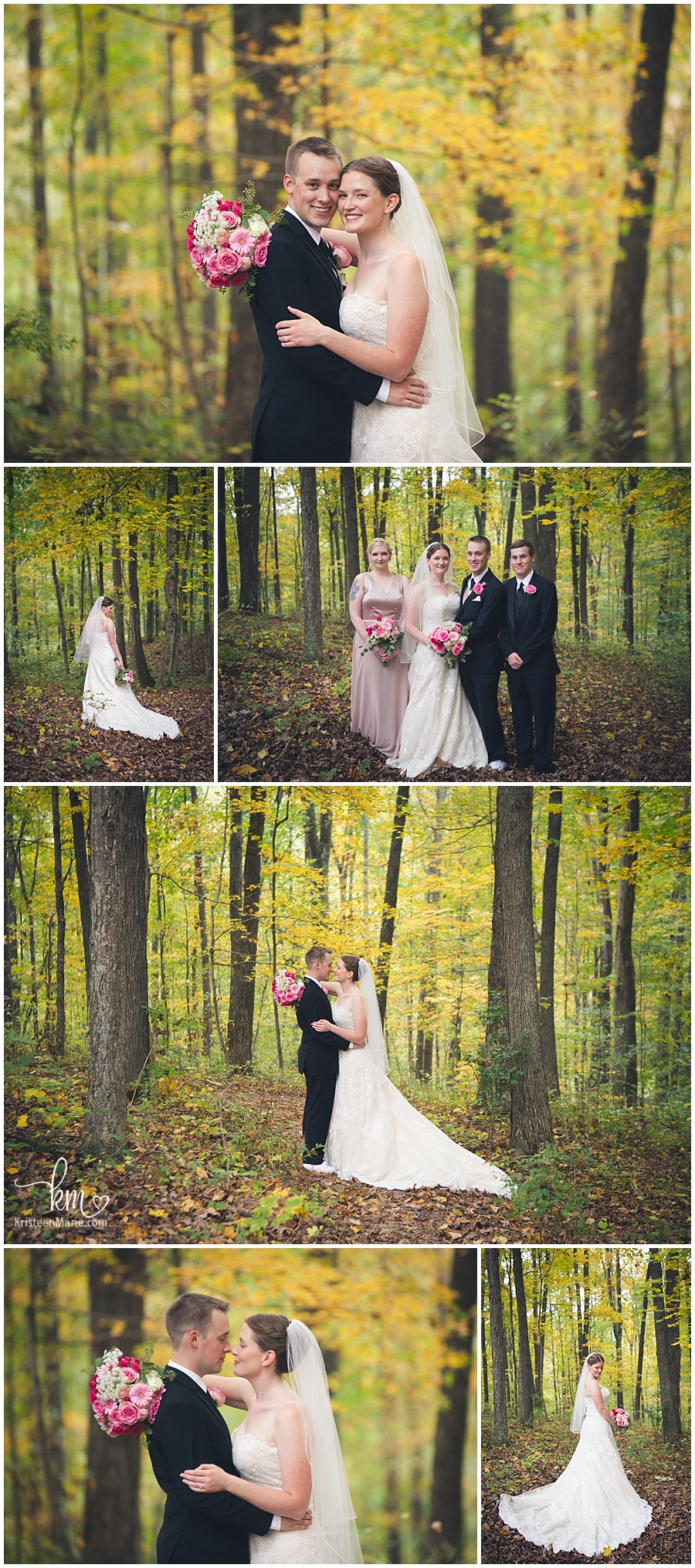 wedding photography at Brown County State Park