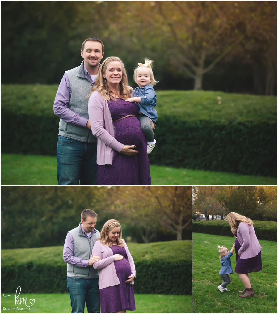 a growing family - Maternity Photography in Indianapolis