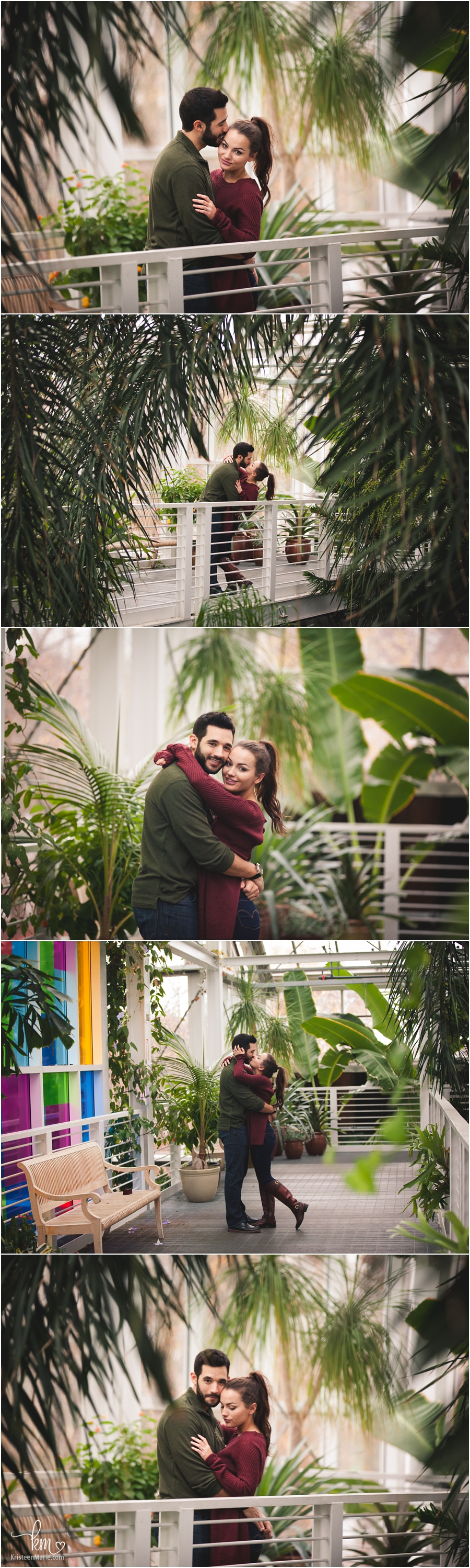 Indianapolis proposal photography at Zoo