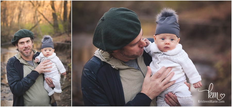 dad and baby girl