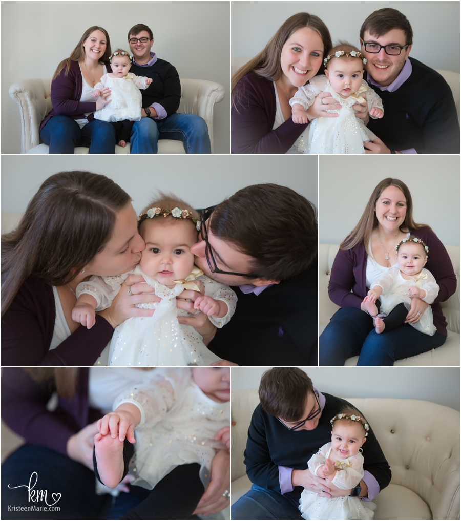 family pictures in Indianapolis studio