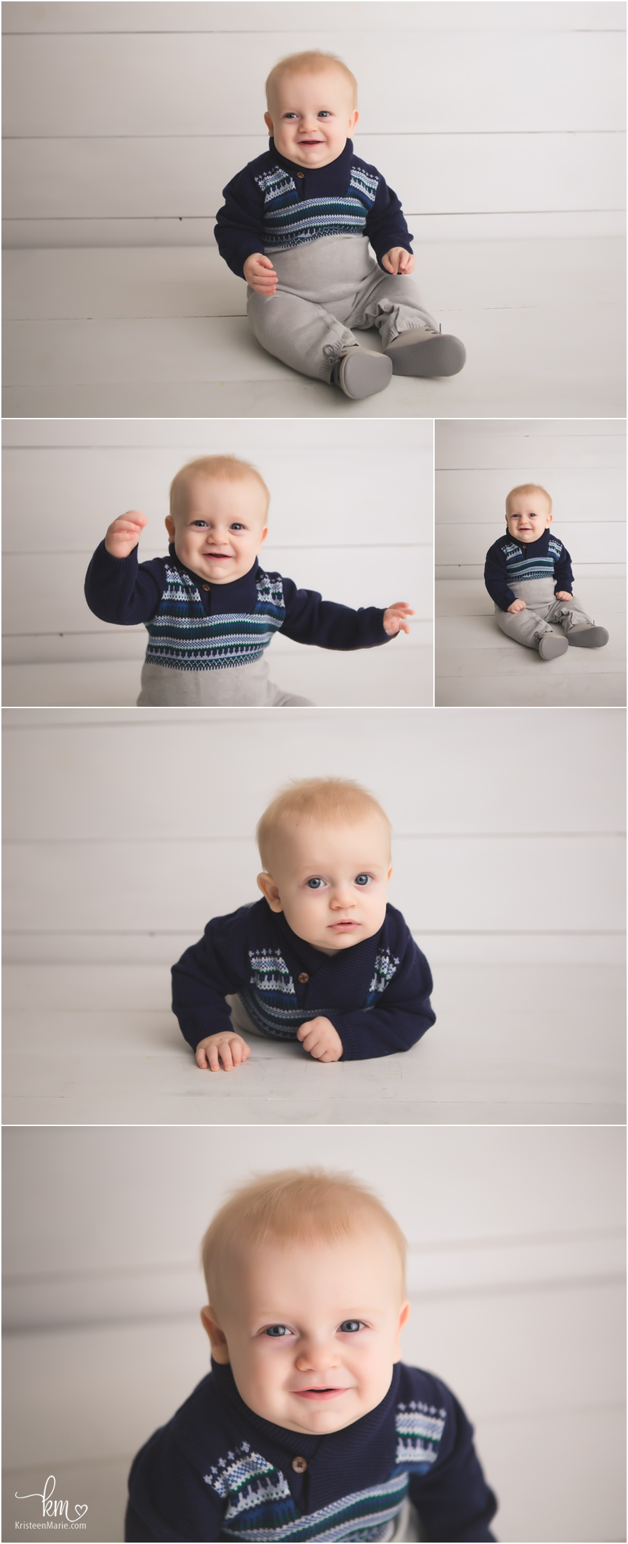 photography of little boy with white background