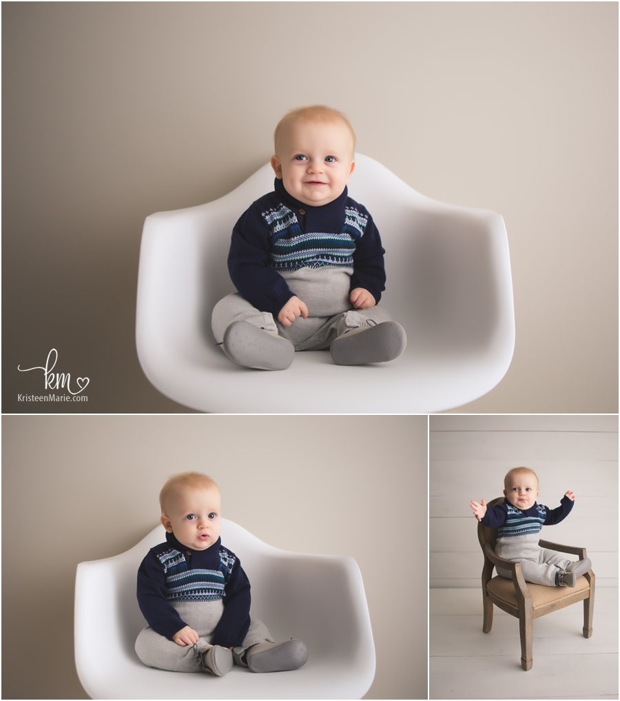 photos of little boy sitting on a chair