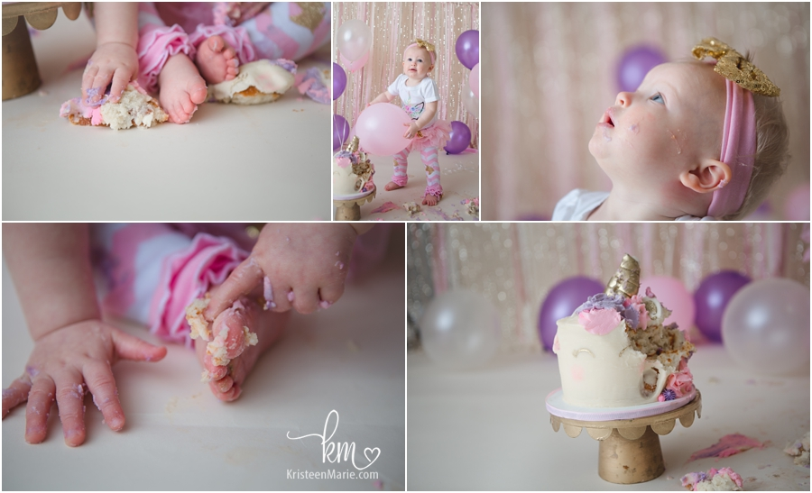 cake smash photography detials