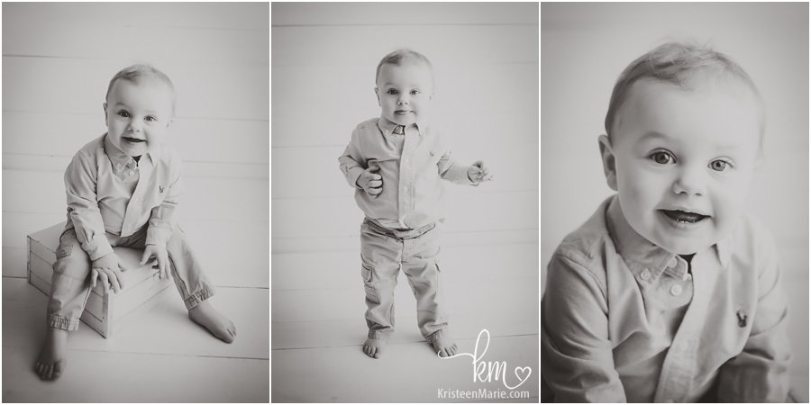 birthday boy - black and white pictures