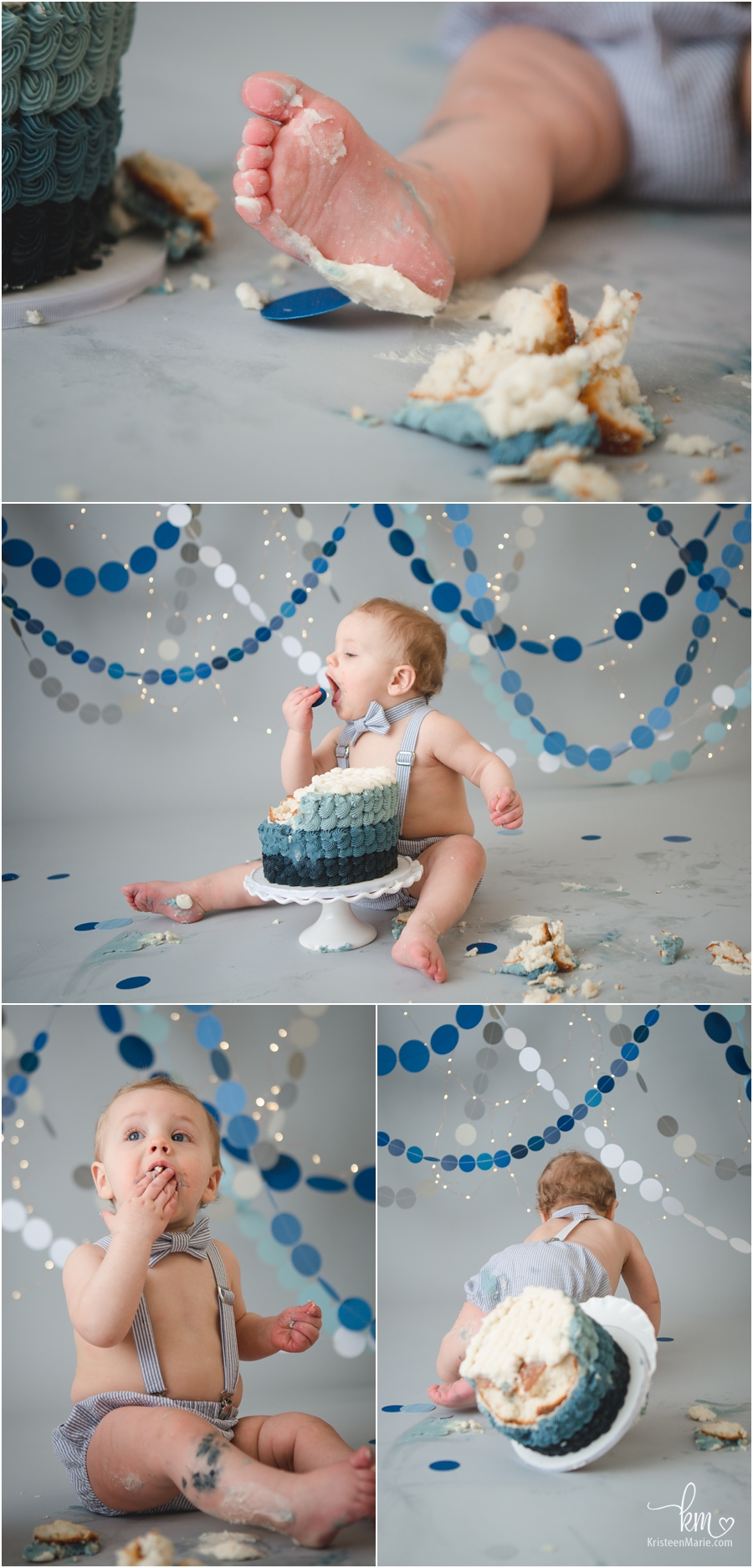 cake smash session for 1st birthday