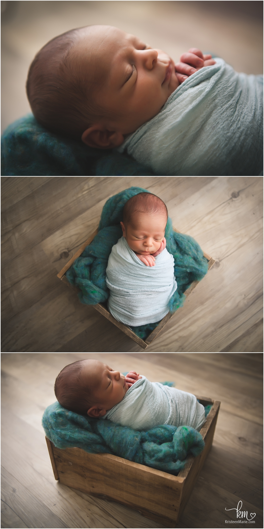 sleeping newborn baby - Indianapolis newborn mini session for newborn