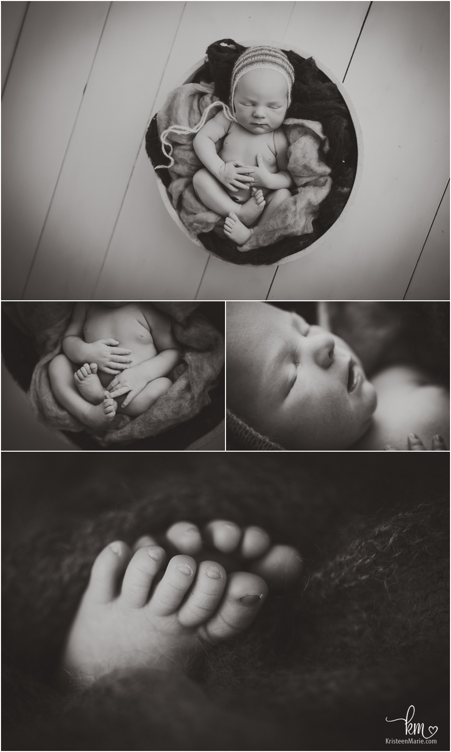 black and white images of baby