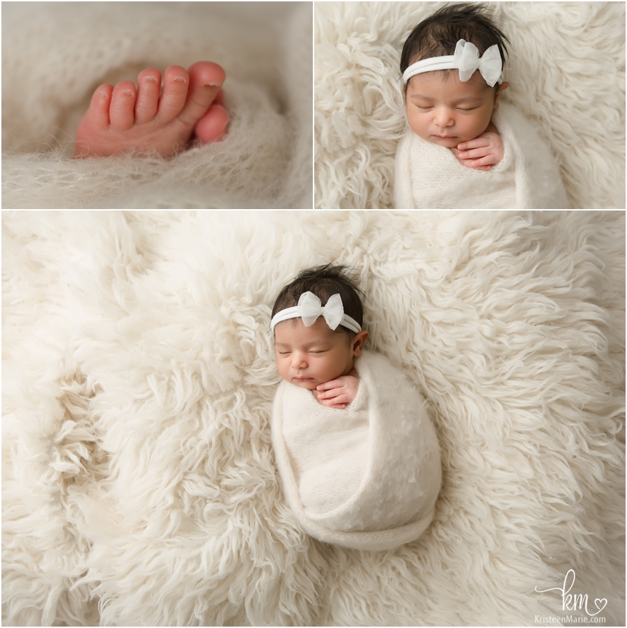 Newborn photography in Carmel, IN