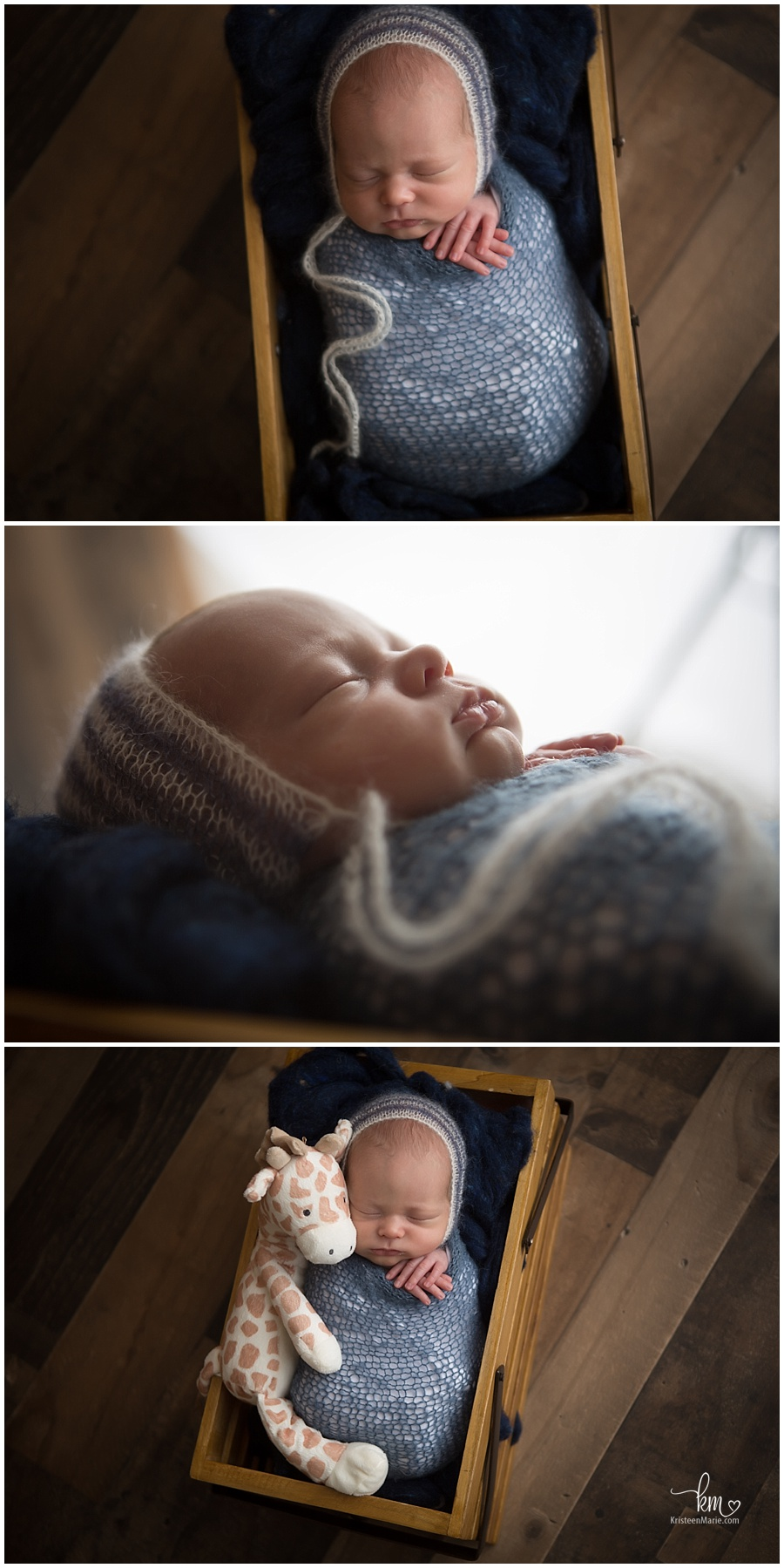 posed newborn photography with great lighting