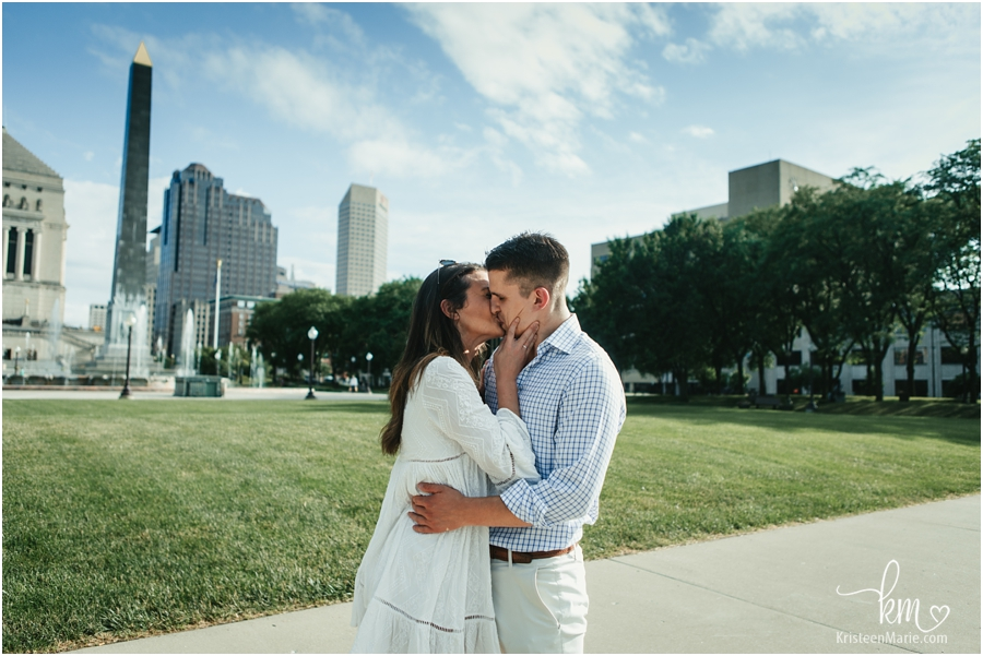 Indianapolis engagement and proposal photographer