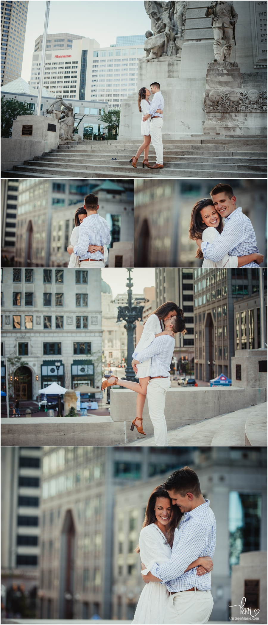 so much emotion - Indy engagement photography