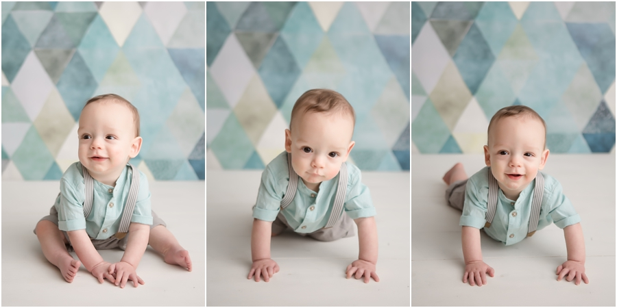 teal and white boy photography pictures