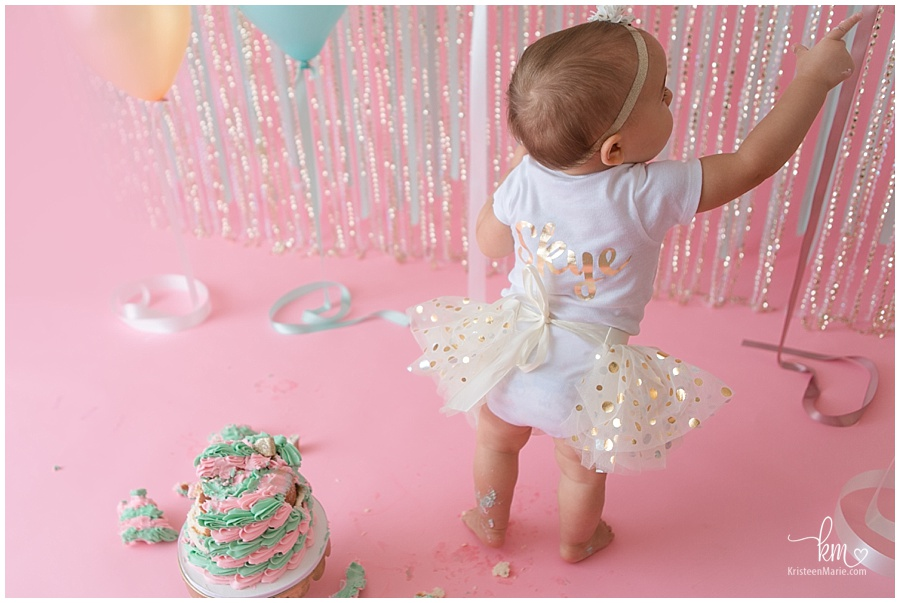 first birthday outfit for cake smash