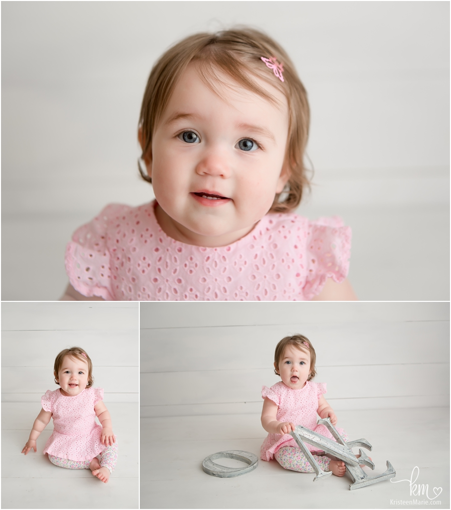 1 year old session - Indianapolis family photography