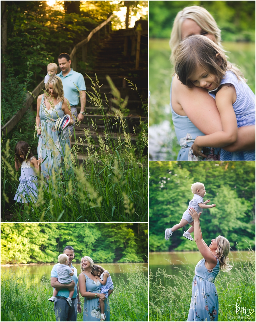 lifestyle photography of the family in Indianapolis, IN