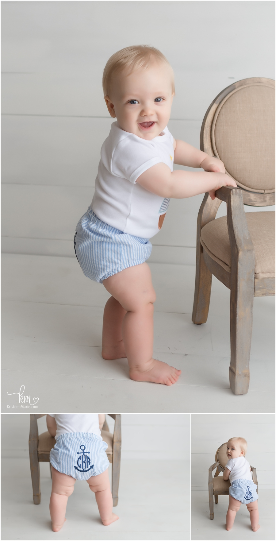 Sitter session - Milestone photography in Indianapolis, Indiana
