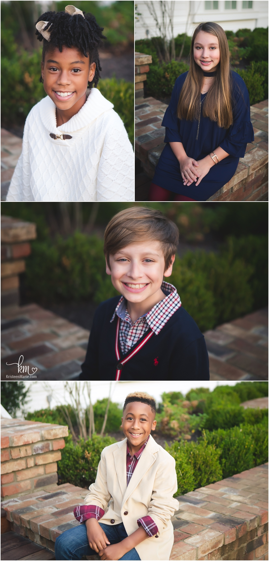 kids headshots - Carmel family photography