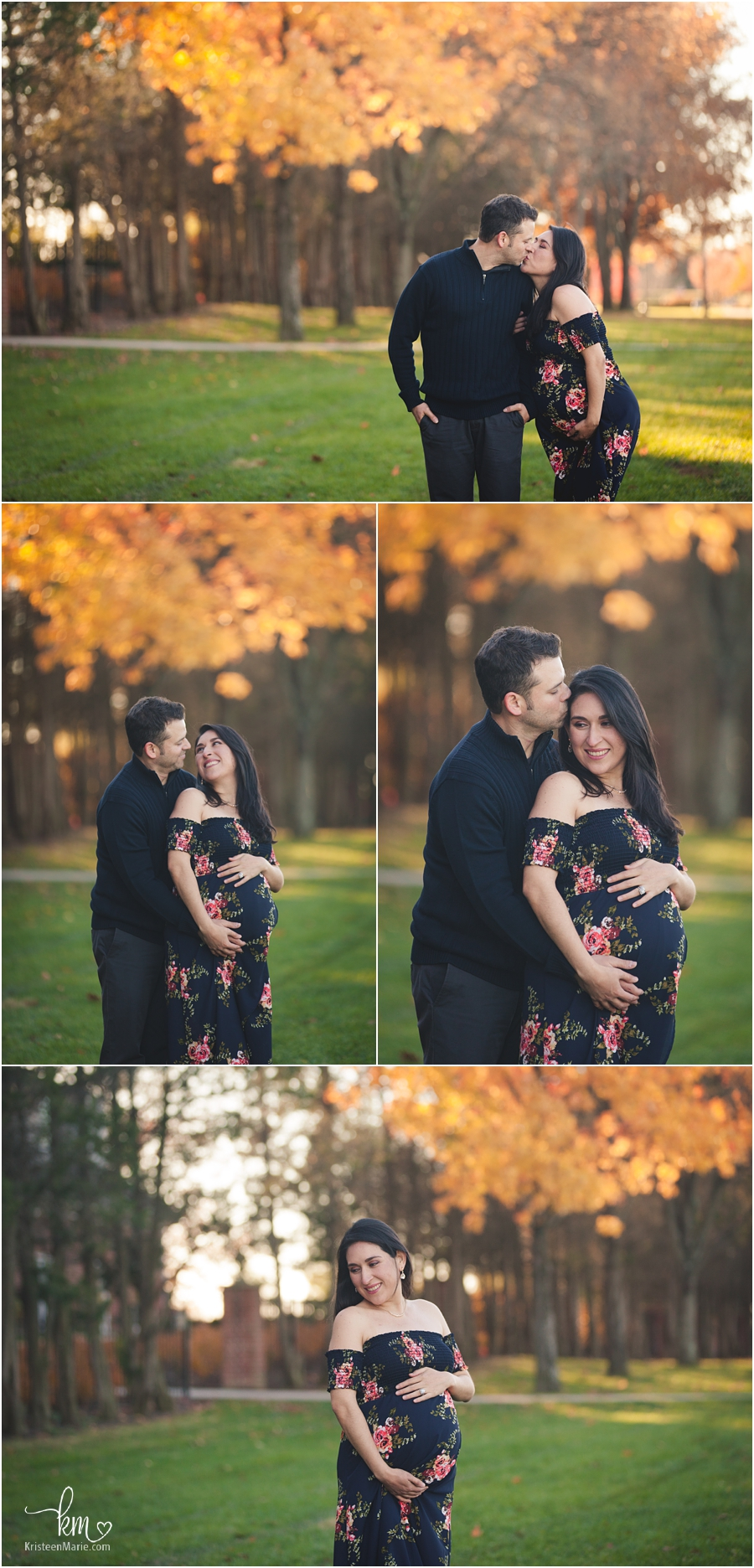 Fall maternity pictures in Indiana