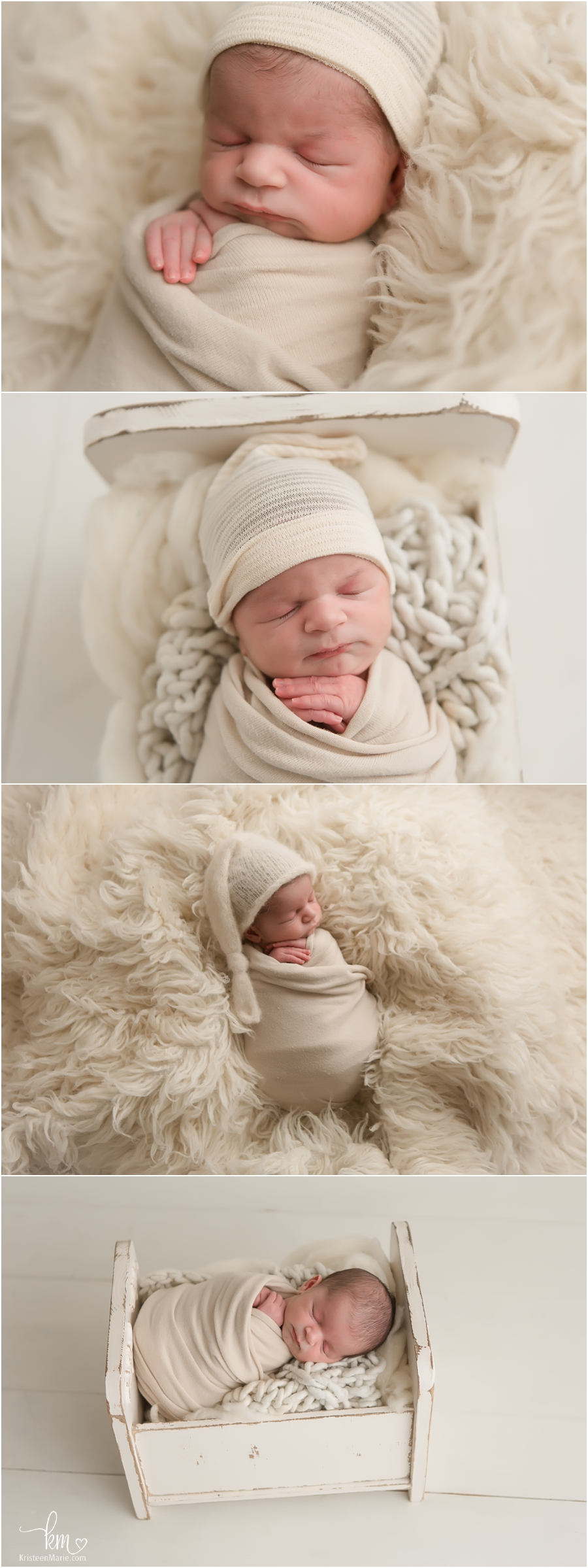 neutral newborn photography