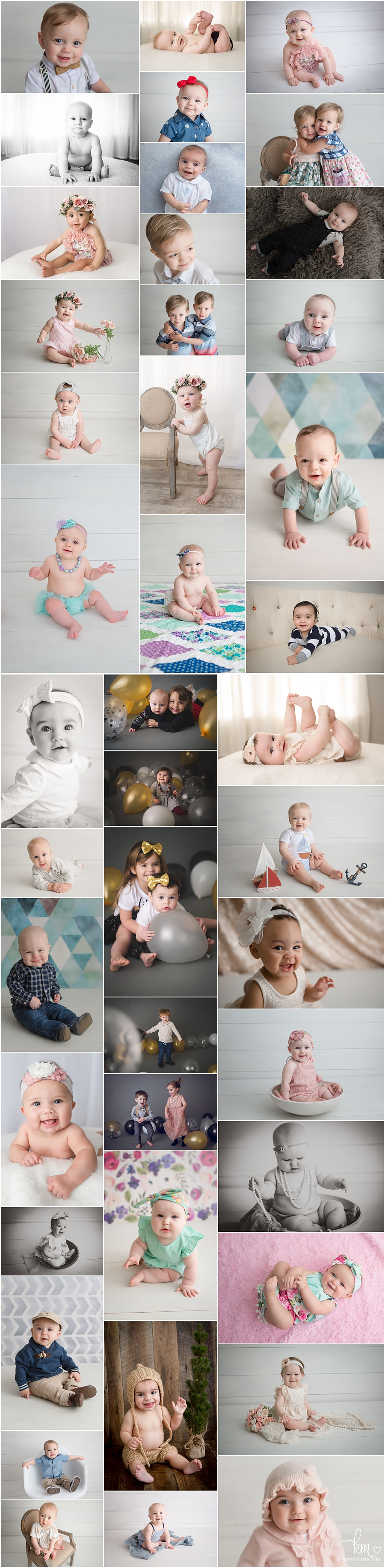 Studio Photography of Children in Indianapolis, Indiana
