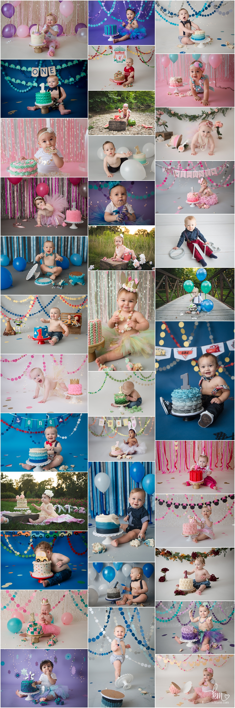 Indianapolis cake smash photographer