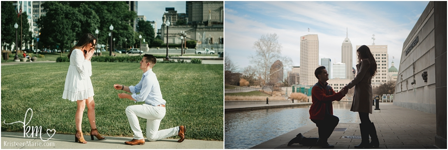 Indianapolis proposal photographer