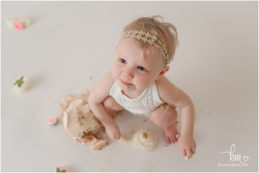cake smash session - Indianapolis photographer